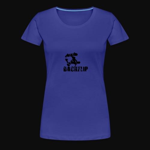 Back flip Skate Level - Women's Premium T-Shirt