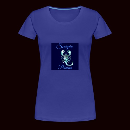 Scorpio Princess - Women's Premium T-Shirt
