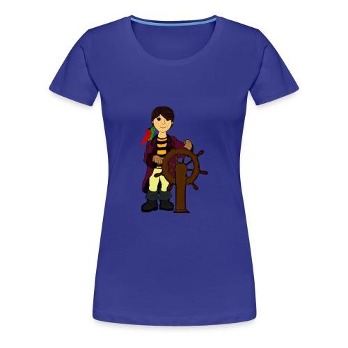 Alex the Great - Pirate - Women's Premium T-Shirt