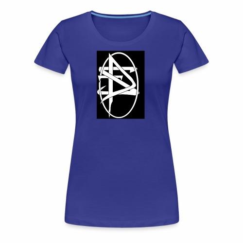 DTS Society w circle white - Women's Premium T-Shirt
