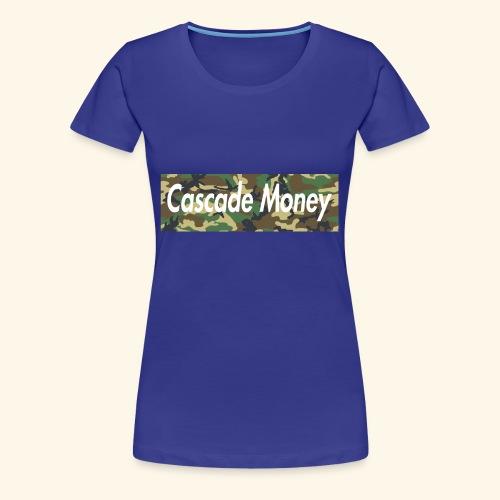Cascade money camo - Women's Premium T-Shirt