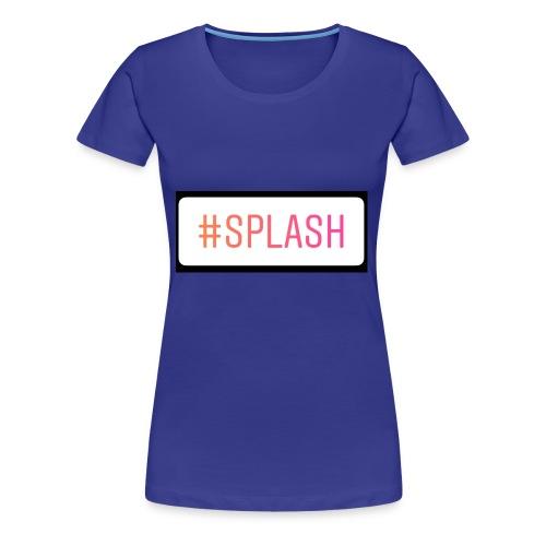 Splash Long sleeves - Women's Premium T-Shirt