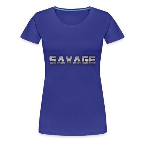 BE A SAVAGE - Women's Premium T-Shirt
