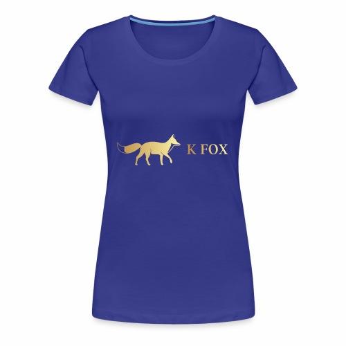 K Fox Black Gold - Women's Premium T-Shirt