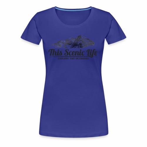 Maroon Bells - Women's Premium T-Shirt