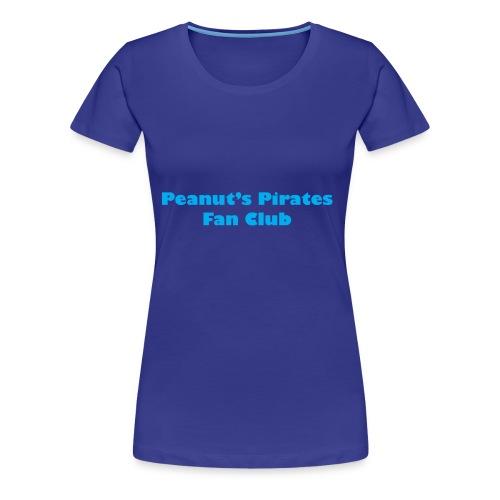 Peanut's Pirates Fan Club - Women's Premium T-Shirt