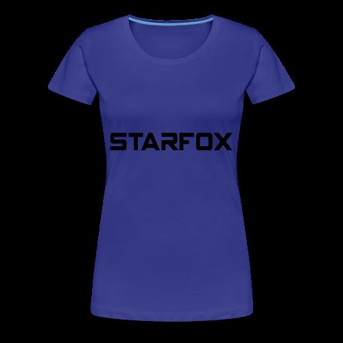 STARFOX Text - Women's Premium T-Shirt