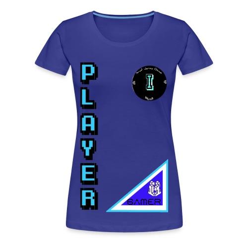Guerrero Gamer, Warrior gamer - Women's Premium T-Shirt
