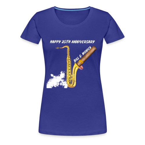 Happy 20th Anniversary Bill and Monica!! - Women's Premium T-Shirt