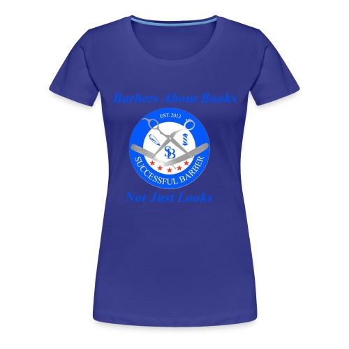 BarberShop Books - Women's Premium T-Shirt
