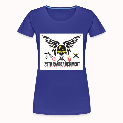 75th Ranger Regiment Gaming Community - Women's Premium T-Shirt