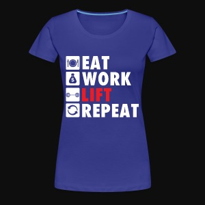 Gym Rat Life Style - Women's Premium T-Shirt