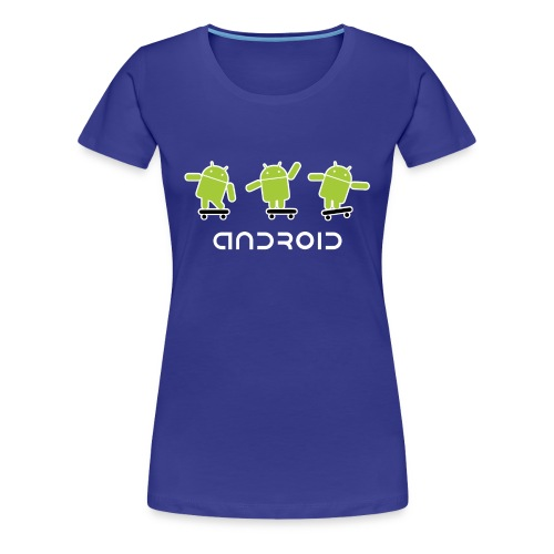 android logo T shirt - Women's Premium T-Shirt