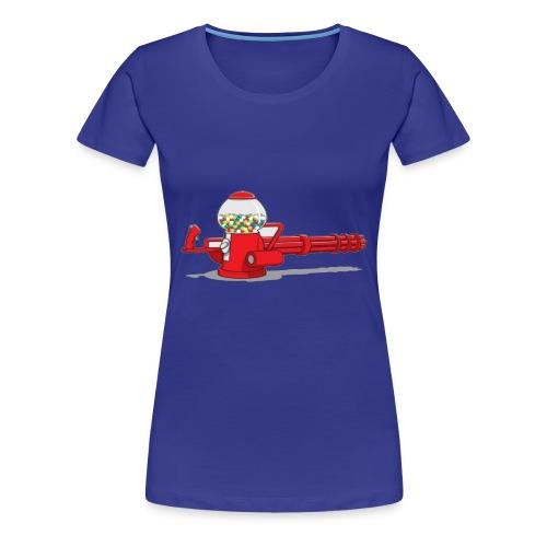 Gumball machine gun - Women's Premium T-Shirt