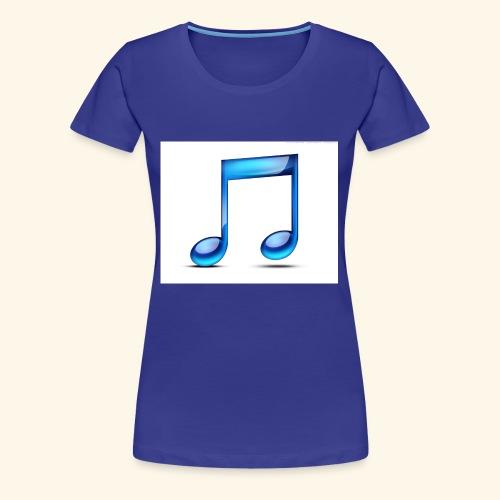 music note icon - Women's Premium T-Shirt