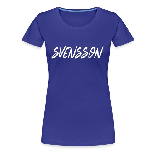 LARGE Svensson Logo - Women's Premium T-Shirt
