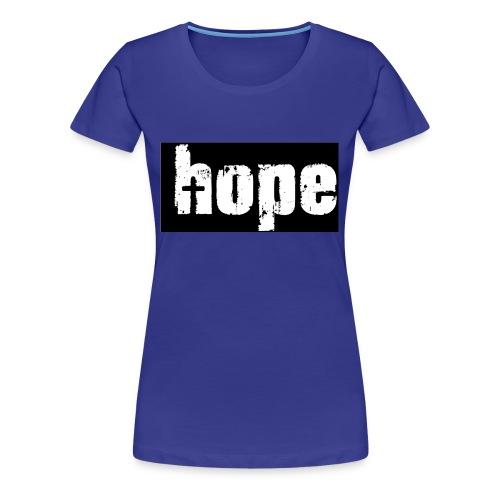 1-Hope - Women's Premium T-Shirt