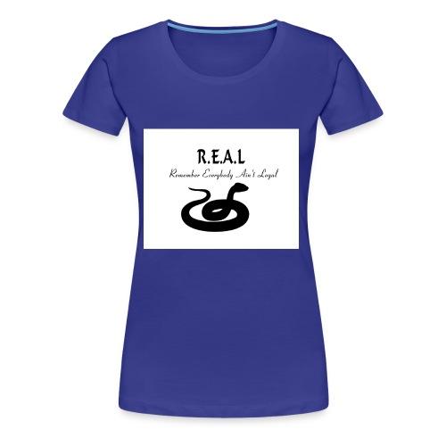 R.E.A.L Snake - Women's Premium T-Shirt