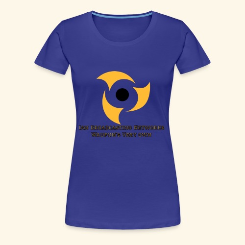 Official Blue Color Apparel Waupun's Very Own IBN - Women's Premium T-Shirt