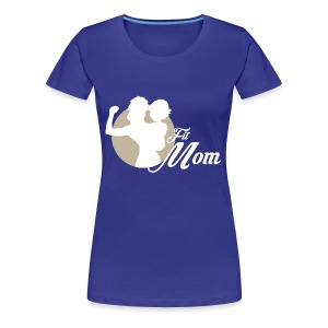 fit mom 1 - Women's Premium T-Shirt