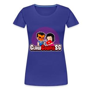 ClawCouple Mascot - Women's Premium T-Shirt