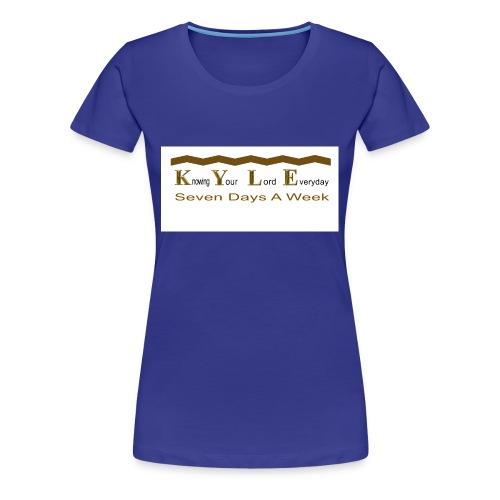DONE_CD_151_001 - Women's Premium T-Shirt