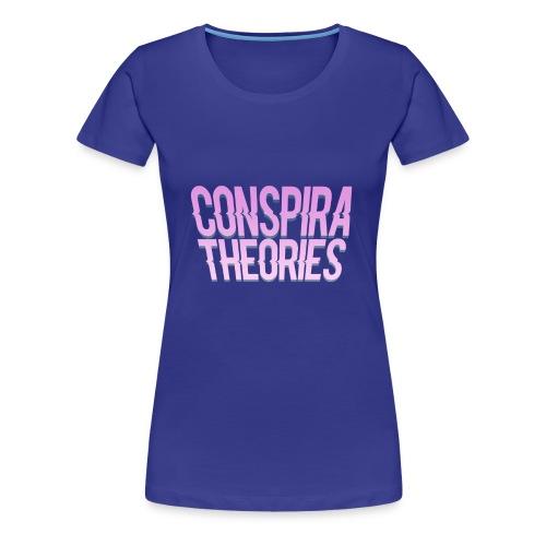 Women's - ConspiraTheories Official T-Shirt - Women's Premium T-Shirt