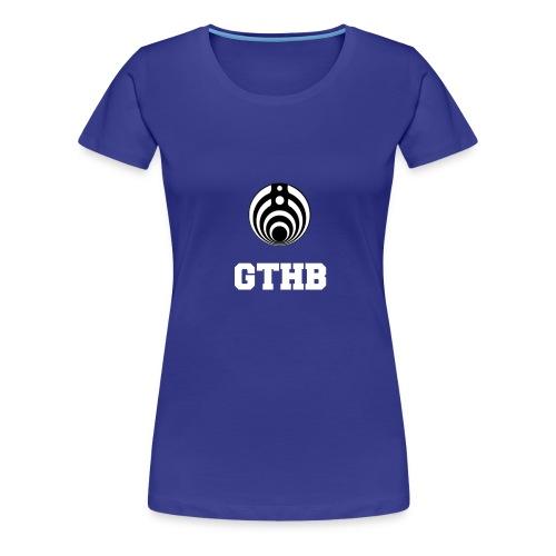 GTHB w/ LOGO - Women's Premium T-Shirt