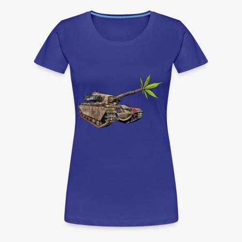 Cannabis Tank - Women's Premium T-Shirt