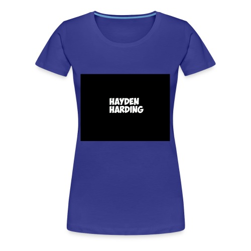 HELLLLLLO - Women's Premium T-Shirt