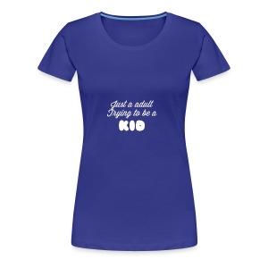 BIG KID - Women's Premium T-Shirt