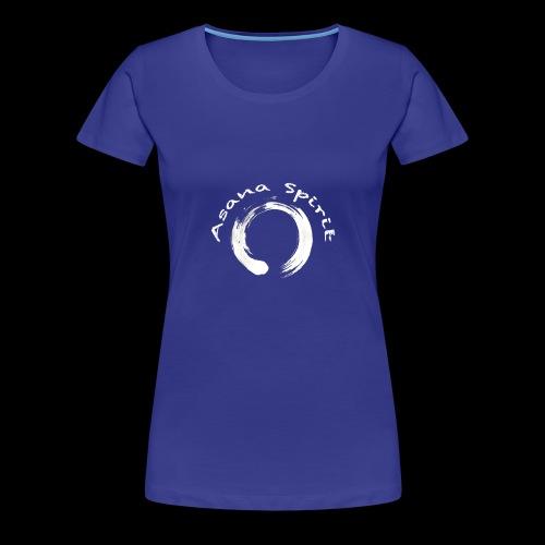 Enso Ring - Asana Spirit - Women's Premium T-Shirt