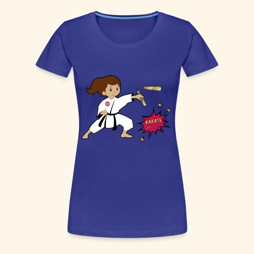 Karate princess - Women's Premium T-Shirt
