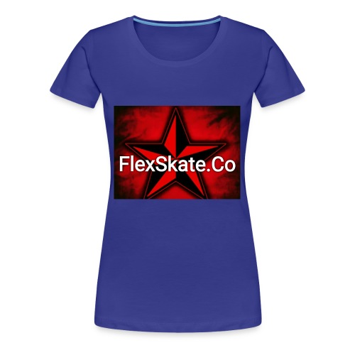 FlexSkate.Co Logo #3 - Women's Premium T-Shirt