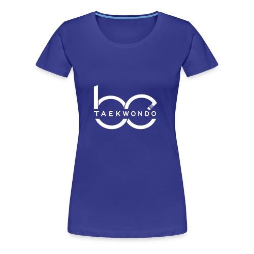 Logo emblem WHITE no bg - Women's Premium T-Shirt