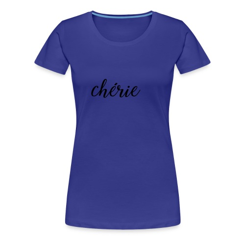 Chérie - A Shooting Star - Women's Premium T-Shirt