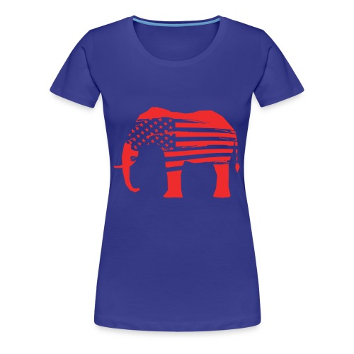 The Red Elephants Official Logo - Women's Premium T-Shirt