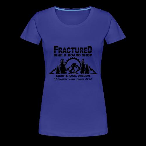 Fractured Squatch Logo - Women's Premium T-Shirt