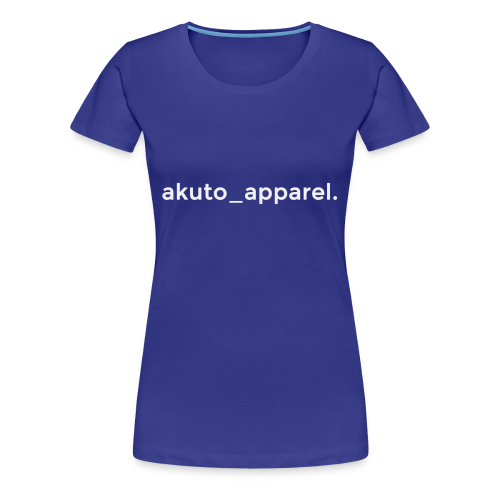 simple_text. - Women's Premium T-Shirt