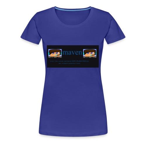 maventshirtlogo - Women's Premium T-Shirt