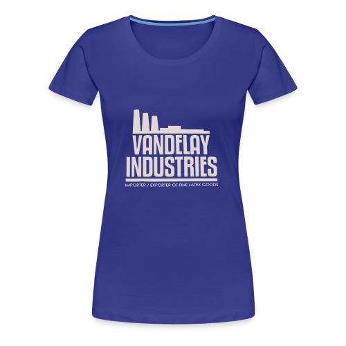 VANDELAY logo - Women's Premium T-Shirt
