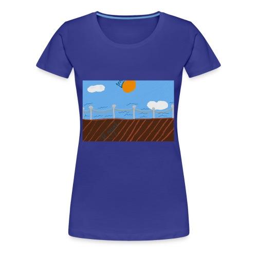 Royal waters - Women's Premium T-Shirt