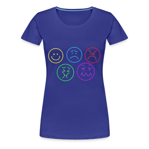 Emotional Gridlock - Women's Premium T-Shirt