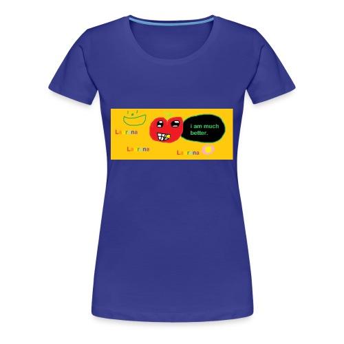 pechy vs apple - Women's Premium T-Shirt
