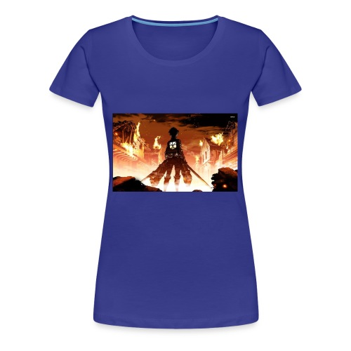 Attack of the titan - Women's Premium T-Shirt