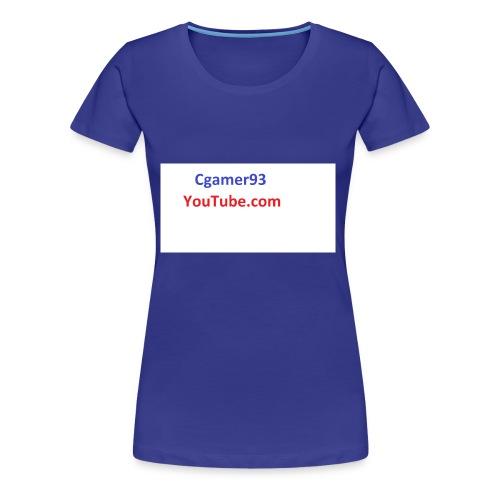 Cgamer93 long sleeve shirt man - Women's Premium T-Shirt