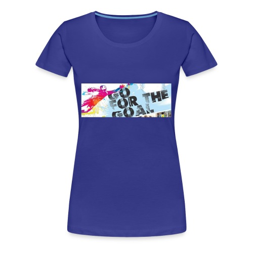 GoForTheGoal Official Products - Women's Premium T-Shirt