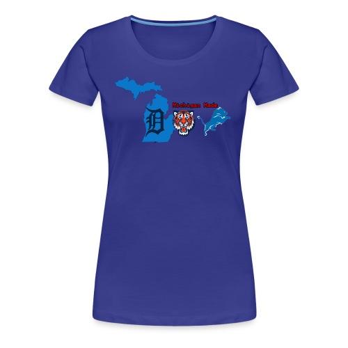 Michigan Made - Women's Premium T-Shirt