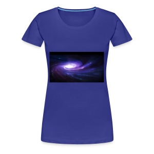 space art spiral star glow 94003 1920x1080 - Women's Premium T-Shirt
