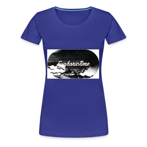 EuphoricTime Black & White - Women's Premium T-Shirt